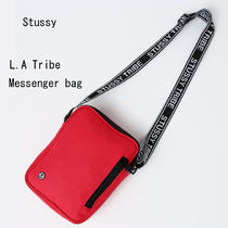 【STUSSY】L.A Tribe Messenger Bag Red