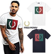 FRED PERRY(フレッドペリー) Tシャツ・カットソー 新作★Fred Perry Logo Tee★フレッドペリー ロゴTシャツ