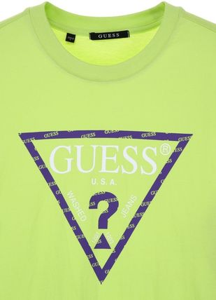 Guess Tシャツ・カットソー 韓国の人気【GUESS】▽ ロゴ Street Semi Over 半袖Tシャツ☆2色(4)