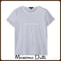 MassimoDutti♪PURE AND SIMPLE STRIPED T-SHIRT