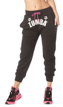 ◆3月新作◆Zumba Happiness Instructor Sweatpants(Bold Black)
