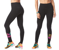 ◆3月新作◆Zumba Instructor High Waisted Ankle LeggingsBlack
