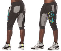 ◆3月新作◆MENS◆I Want My Zumba Capri Harem Pants(Black)