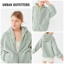 [UrbanOutfitters]大人気●Wilma Hooded ZipFront Teddy Jacket