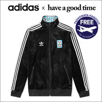 adidas x Have a Good Time ベロア トラック トップ