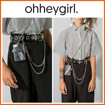 Oh Hey Girl(オーヘイガール) バッグ・カバンその他 新作!日本未入荷*Oh Hey Girl☆Clear Mini Box Bag*