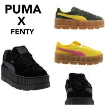 プーマ★送料込★Puma×Fenty by Rihanna Suede Cleated Creeper
