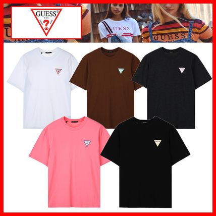 Guess Tシャツ・カットソー 人気【GUESS】☆▽ Color Print Semi Over 半袖Tシャツ☆5色