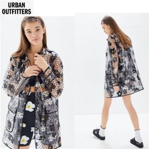 UO 可愛い★Christy Floral Snap Button Rain Jacket