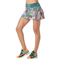 ★国内在庫★ ズンバ I Want My Zumba Skort Teal Me Everything