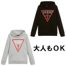 Guess(ゲス) キッズ用トップス ★大人もOK★Guess★ロゴ入りパーカー★