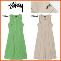 最新作!! ☆STUSSY☆  BAILEY CONTRAST STITCH DRESS
