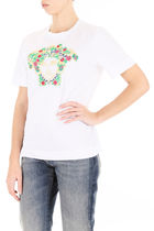 関税送料込【VERSACE】 Embroidered Medusa T-Shirt