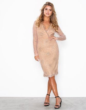 Exclusive Sprinkle Glitter Tight Dress