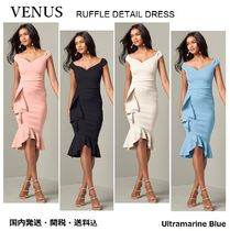 VENUS【国内発送】☆RUFFLE DETAIL DRESS☆