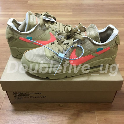 NIKE Off-White THE 10  AIRMAX 90 デザートオレ オフホワイト
