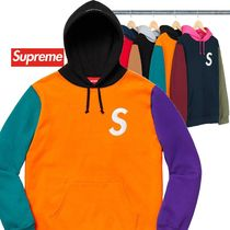 Supreme S Logo Colorblocked Hooded Sweatshirt SS 19 WEEK 2