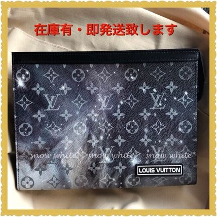 Louis Vuitton(ルイヴィトン) クラッチバッグ 明日着 2019限定 モノグラムギャラクシー クラッチ ルイヴィトン