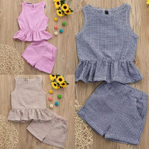18M-5yrs ☆VEST TOPS&SHORTS 2点セット☆