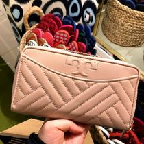 セール 即発送 Tory Burch Alexa Zip Continental★ピンク