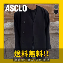 ASCLO(エジュクロ) ジャケット ★ASCLO★ Garments No Collar Blazer