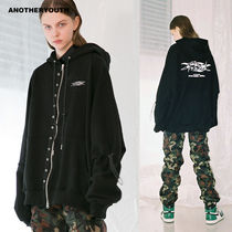 ANOTHERYOUTH正規品★アイレットジップアップパーカー★UNISEX