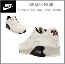 NIKE☆WOMEN'S AIR MAX 90 SE☆HAVE A NIKE DAY -PALE IVORY-