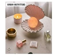 Urban Outfitters リモコン付LEDシェルランプ♪全12色変化♪