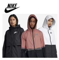 ★NIKE Womens Woven Windrunner Jacket White / Black★