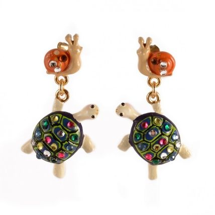 Pour Elisabeth Tortue Earrings & Piercings