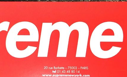 Supreme Tシャツ・カットソー 正規品 国内送込  Supreme×US Hanes Tシャツ 白or黒3枚セット(12)