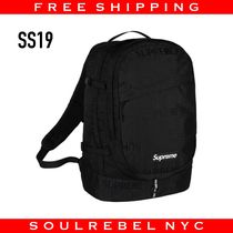 Supreme Backpack SS19 バックパック 最新作 Black ブラック 黒