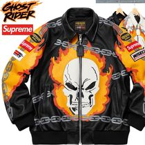 Supreme Vanson Leathers Ghost Rider Jacket SS 19 WEEK 2