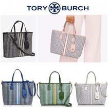TORY BURCH◆GEMINI LINK CANVAS SMALL TOTE 2WAY