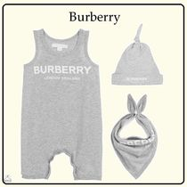 Burberry☆BABY コットンショートパンツギフトset gray 1-18M