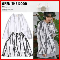 ☆韓国の人気☆【OPEN THE DOOR】☆Grunge Tie-Dye T☆2色☆