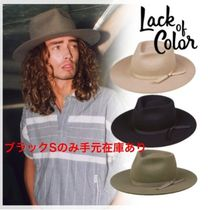 lack of color(ラックオブカラー) ハット ☆Lack of color☆ヴィンテージハット/Vintage Classic fedora