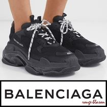 【国内発送】Balenciaga スニーカー Triple S Clear Sole logo