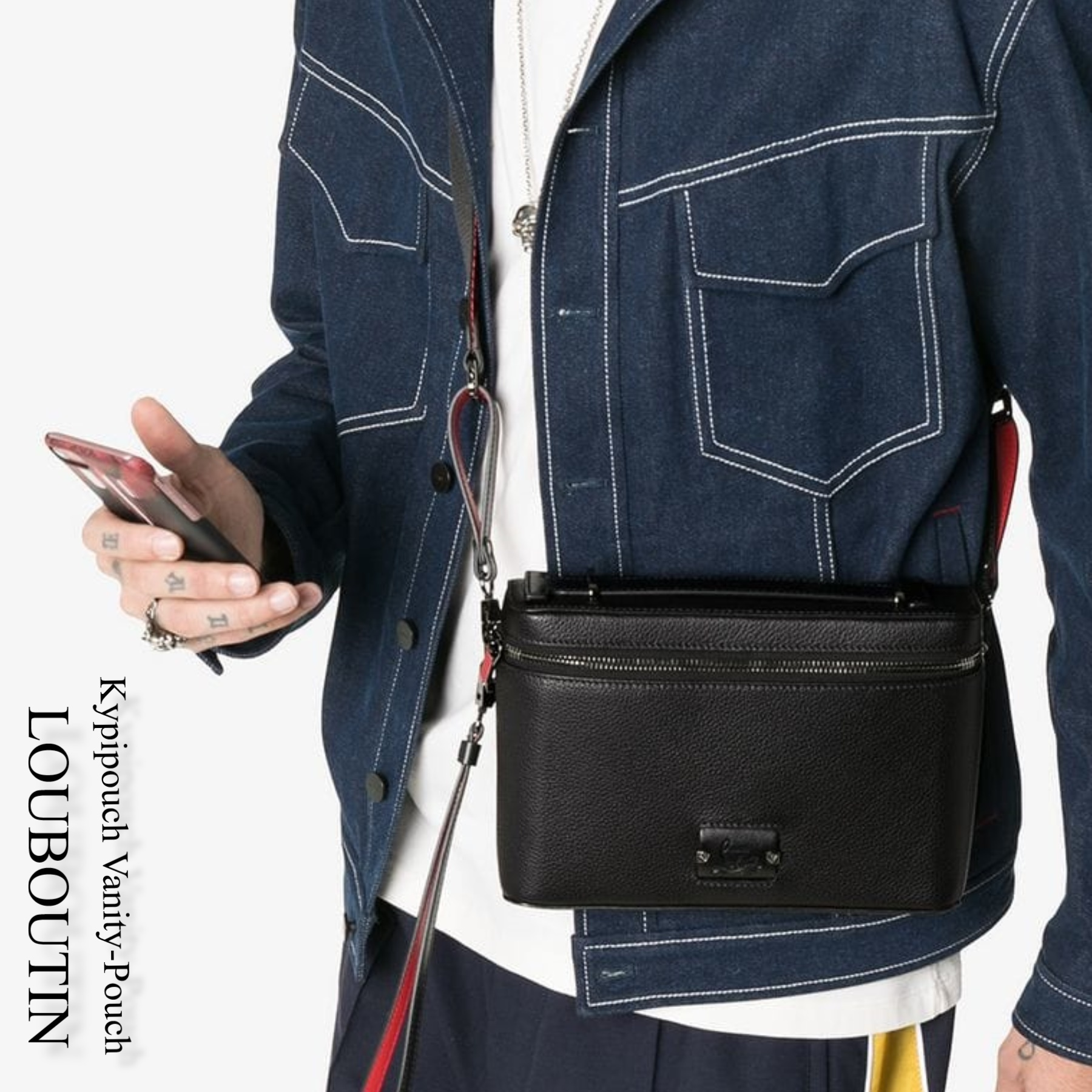 2165189e41e Christian Louboutin 2019 SS Messenger & Shoulder Bags (Kypipouch  Vanity-Pouch , 3185198B266)