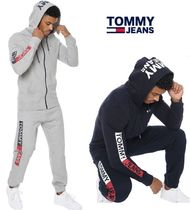 Tommy Jeans★ロゴフディ−&パンツのセットアップ