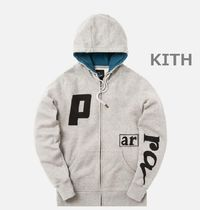 【日本未入荷】KITH BY PARRA SCRIPT LOGO HOODED VEST