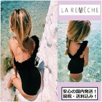 人気!!【LA REVECHE】NABILA BLACK ONE SHOULDER/関税・送料込み