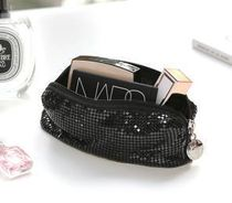 【BLANC BLACK】Spancor Rectangular cosmetic pouchL [2color]