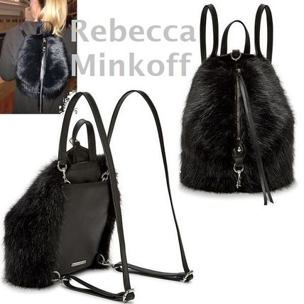 RebeccaMinkoff★Faux Fur Mini Julianミニ・フェイクファー♪