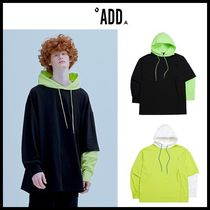 ☆add☆ スウェットシャツ  HYBRID WINDBREAKER SWEATSHIRT