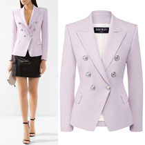 BAL381 WOOL DOUBLE BREASTED JACKET