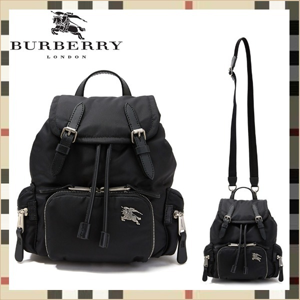 Burberry☆SM RUCKSACKD backpack☆正規品・安全発送☆ (Burberry/バックパック・リュック) 8006716