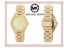 ★特価★ Michael Kors Gold Slim Runway Watch 33 mm