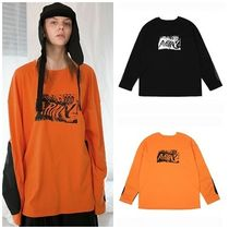 ANOTHERYOUTH(アナザーユース) Tシャツ・カットソー 日本未入荷ANOTHERYOUTHのprinting long sleeve 全2色