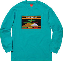 【WEEK2】SS19 SUPREME(シュプリーム)NEEDLEPOINT PATCH L/S TOP